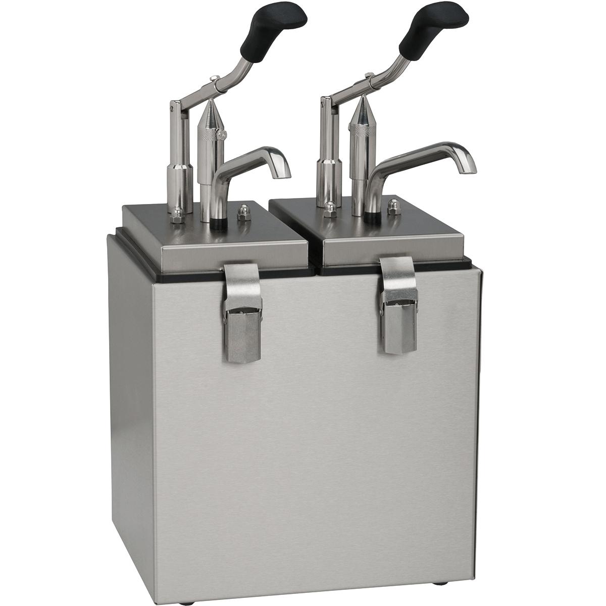 Dosatori Multipli A Leva Per Salse  (2,5 Litri / Da 1 A 6 Scomparti)